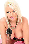 Alice Saint Blonde Passion istripper model