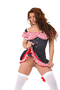 Bettina Di Capri Sexy Square Dance istripper model