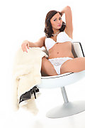 Isizzu White Mink istripper model