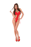 Little Caprice Red Is My Color istripper model