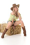 Taylor Shay Wild West istripper model