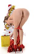 Viola Mistletoe Kiss istripper model