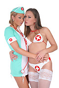 Natalia & Mia Duo istripper model