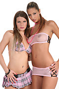 Kitty Jane & Mona Lee Duo istripper model
