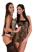 Lauryn May & Bambi Duo istripper model
